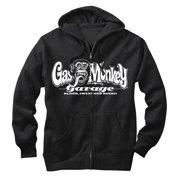Gas Monkey Men's Blood, Sweat, and Beers Zip Up Hoodie