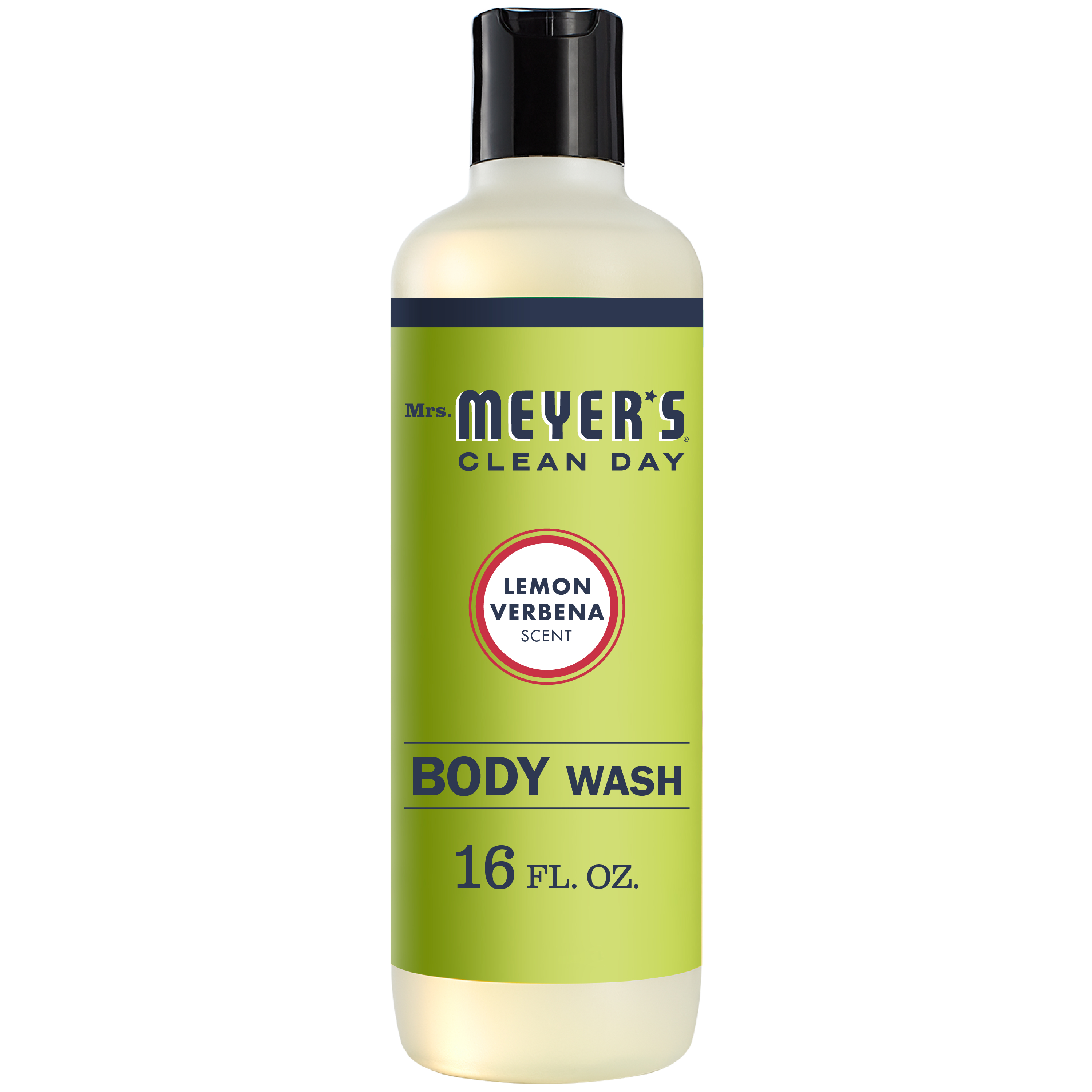 Mrs. Meyer's Clean Day Body Wash, Lemon Verbena Scent, 16 ounce bottle