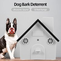 Pet Dog Safe Outdoor Bark Control Sound Anti Barking Device Waterproof 4 Levels Sonic Bark Deterrents Dogs Training Control Tool
