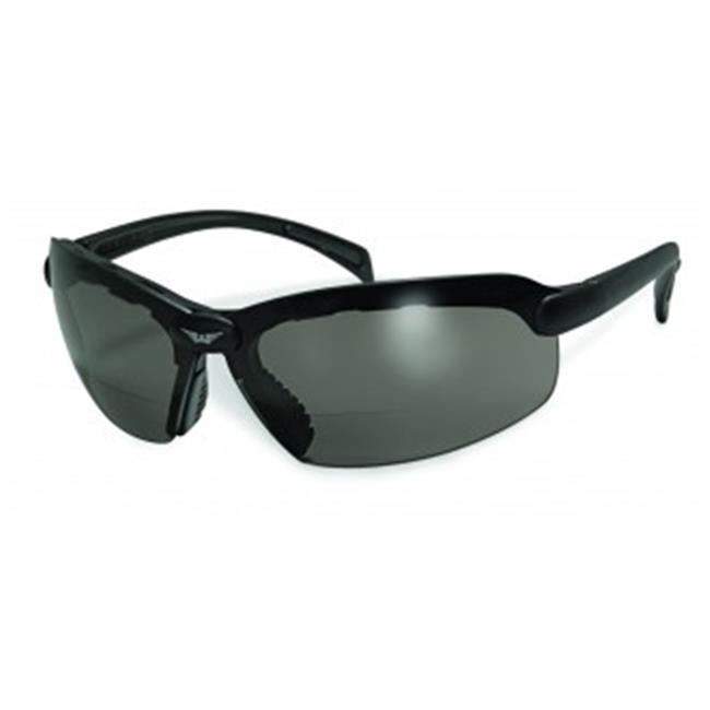 Safety C-2 Bifocal Safety Glasses With 2.5 Smoke Lens