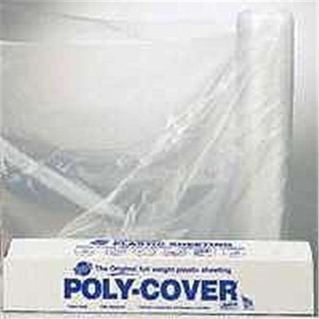 Pro-fitl Poly 6X84-C 8.3 x 100 ft. 6Mil Clear Poly Film