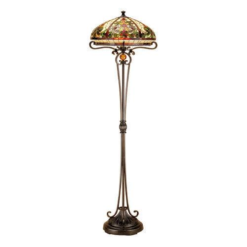 Dale Tiffany Boehme 62'' Floor Lamp