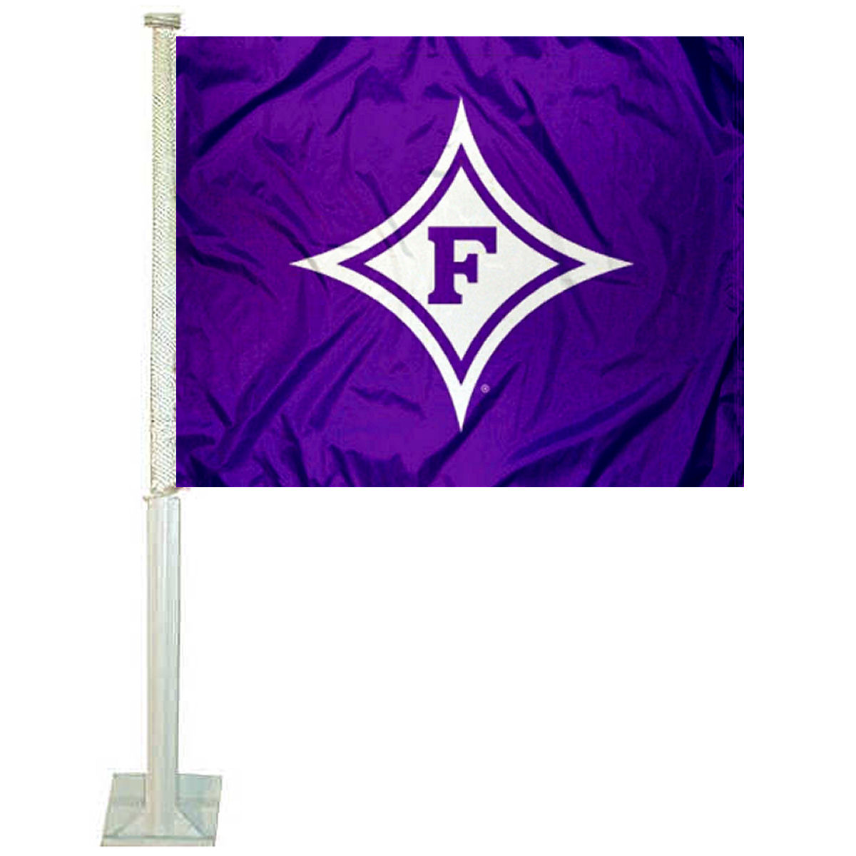 "Furman University 12"" x 15"" Car Flag"