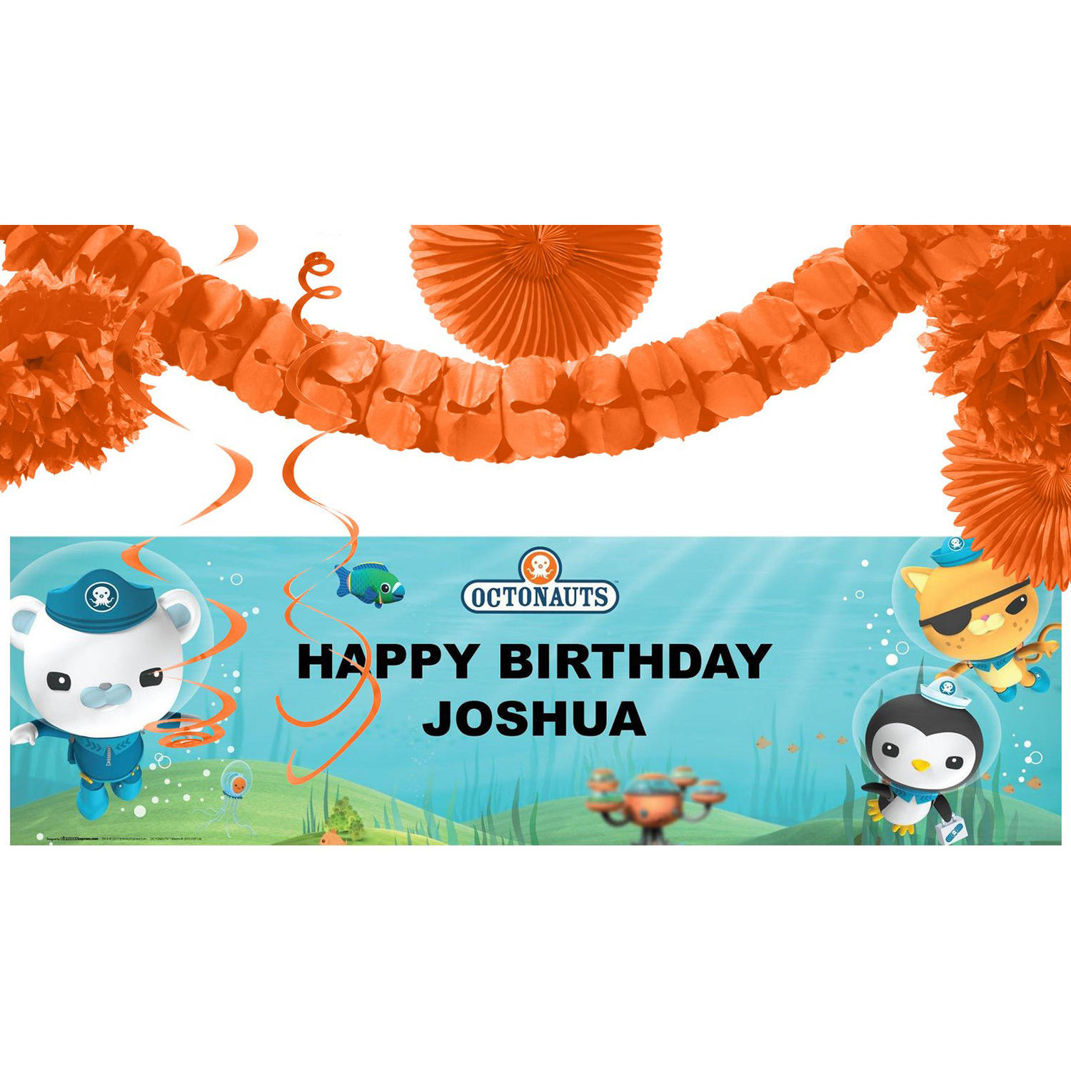 Octonauts Party Banner Decoration Kit