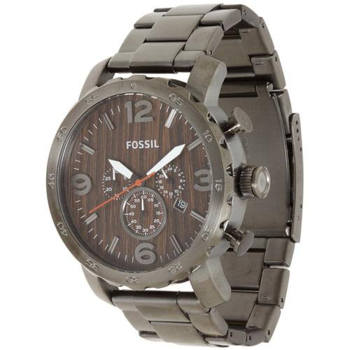 Fossil Men's Nate Watch Quartz Mineral Crystal JR1355
