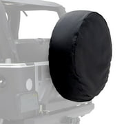 "Smittybilt 33-35"" Spare Tire Cover, Black Diamond - 773535"