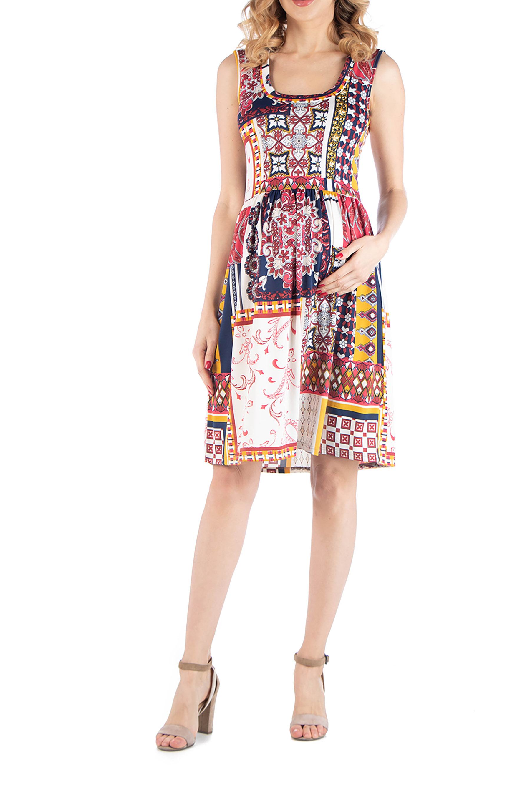 Fit USA Patchwork Dress