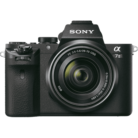 Sony Alpha a7 II Full-frame Mirrorless Camera - Black