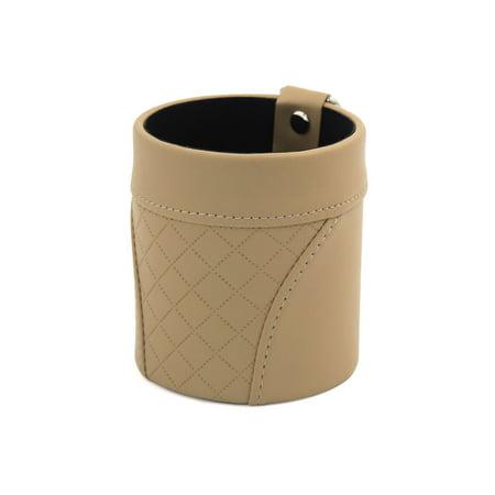 Accessoire Voiture aération situé pochette rangement Sac Beige porte-organisateur poche - image 3 de 3