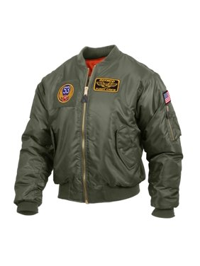 3e10aa2c5 Product Image Rothco MA-1 Flight Jacket with 5 Removable Morale Patches