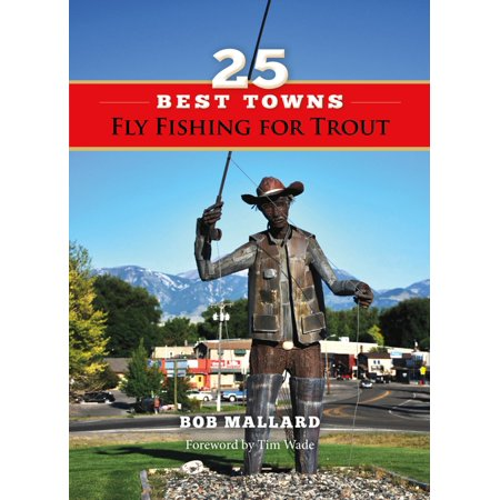25 Best Towns Fly Fishing for Trout - eBook