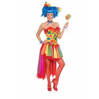 Pippi Longstocking Costumes (PIPPI POLKA DOT CLOWN CORSET)