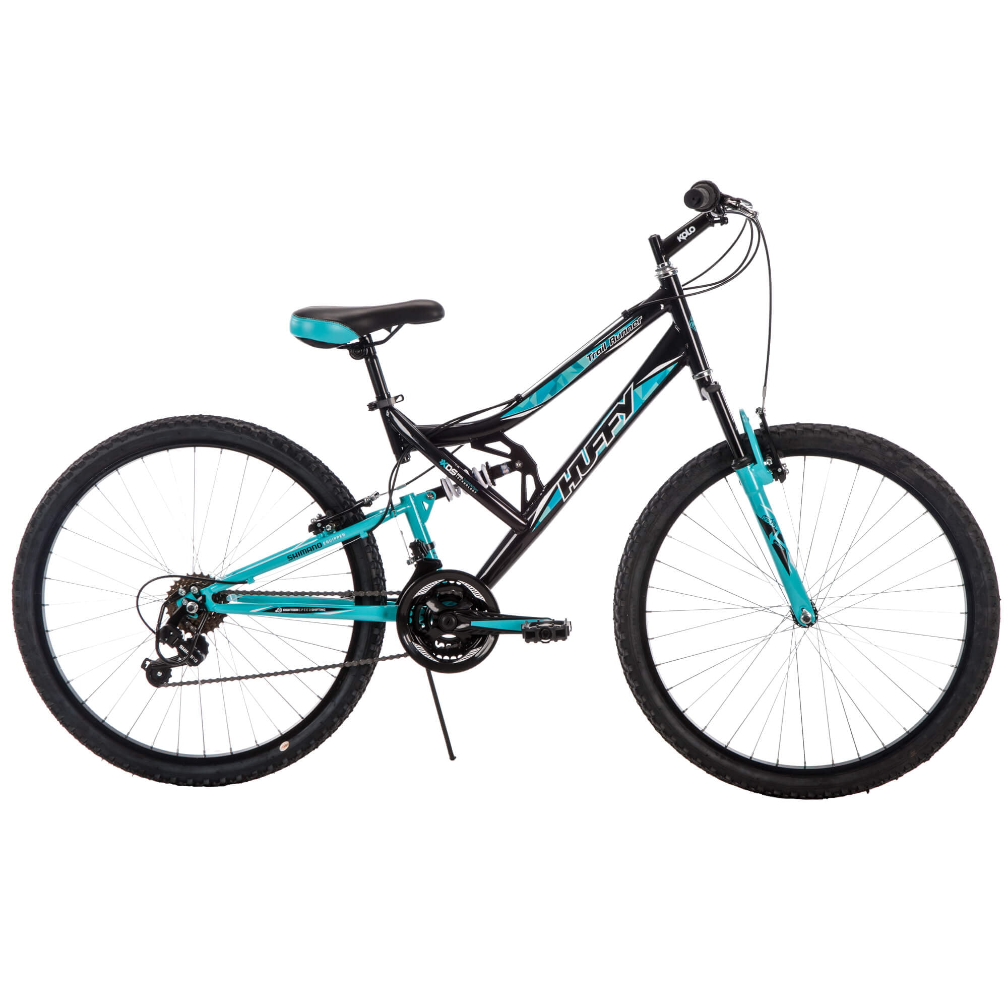 26 Inch Huffy Women s Trail Runner Mountain Bike Black