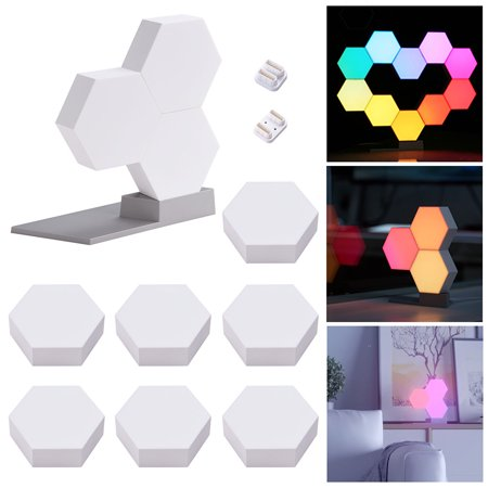 Yescom WiFi LED Smart  Light Changing 16 Million Cololight Smartphone Control Works with Alexa Google Home Décor