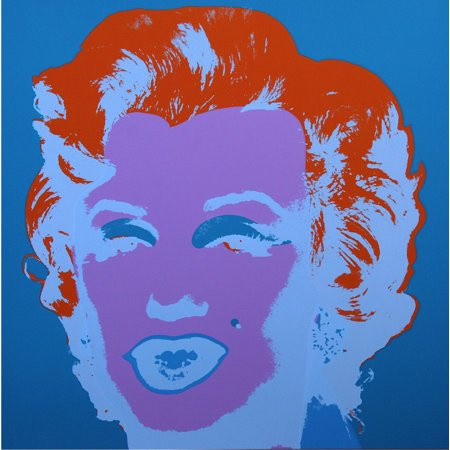 Marilyn Monroe #29 by Andy Warhol Portrait Art Print