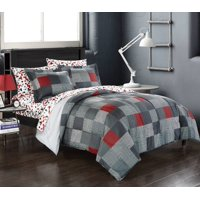 American Original Geo Blocks Bed in a Bag Bedding Comforter Set, Twin