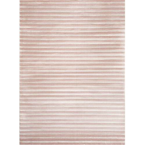 World Rug Gallery Contemporary Modern Striped Soft Indoor Area Rug