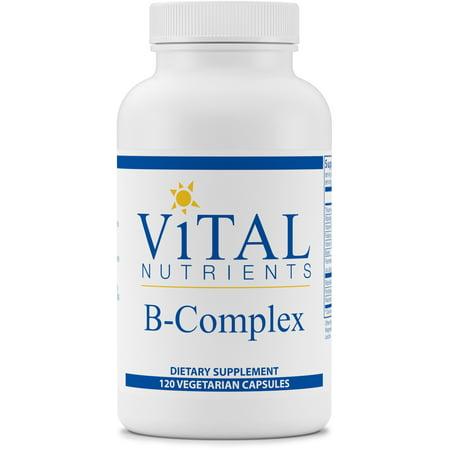 - Vital Nutrients - B-Complex - Balanced High Potency B Vitamin Complex - 120 Capsules