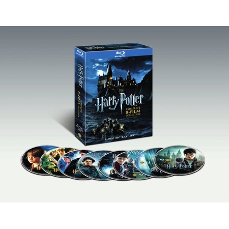 Harry Potter: The Complete 8-Film Collection (Blu-ray) - Halloween Movie Series Box Set