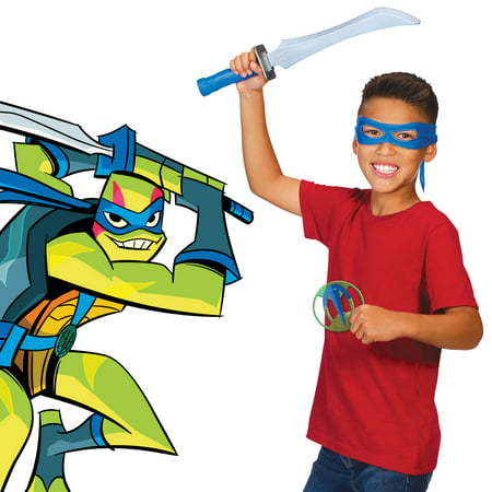 Rise of the Teenage Mutant Ninja Turtles Leonardo's Odachi Role Play - Ninja Turtle With Sai