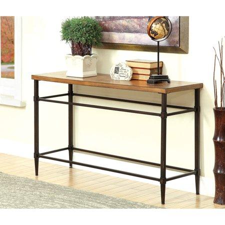 Furniture Of America Suri Transitional Light Oak Sofa Table