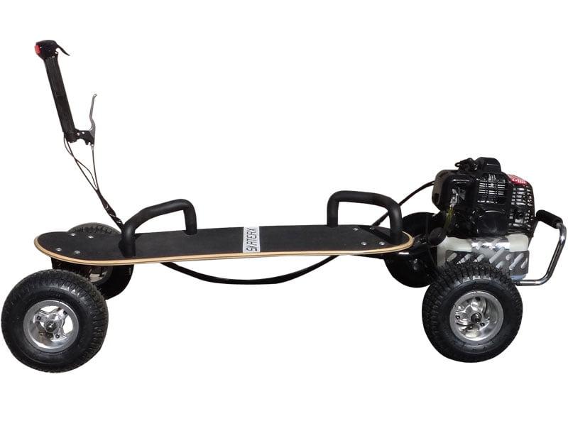 ScooterX Skateboard 49cc Black, (Non-CA Compliant) by Big Toys USA