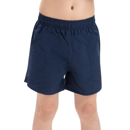 Dolfin Boys Solid Water Short in Navy, Size Youth Large