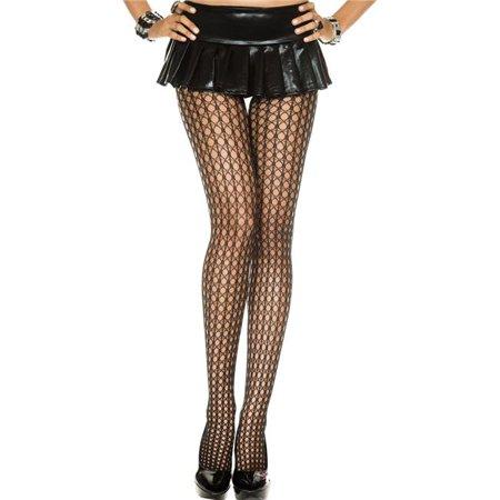Crochet Spandex Pantyhose - Black - image 1 de 1