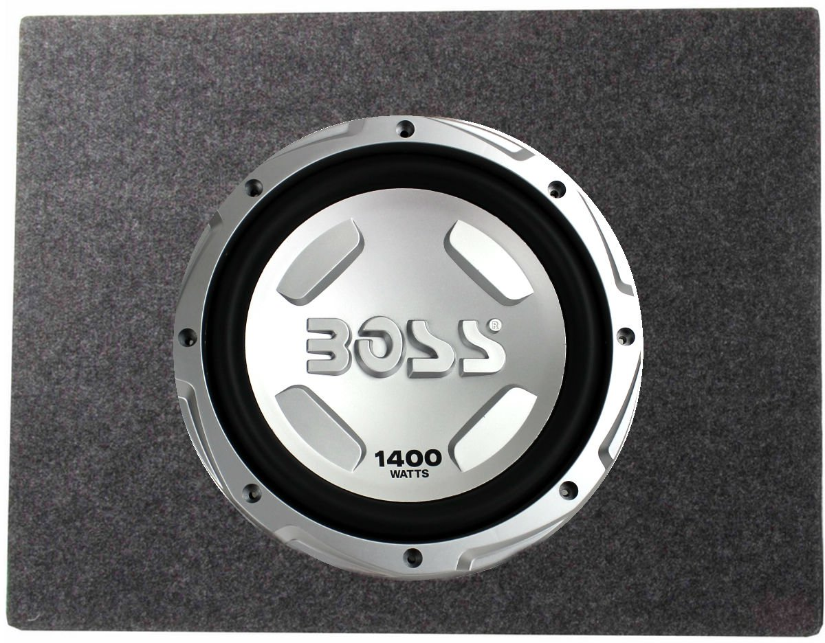Boss Chaos 12 1400 Watt Power Subwoofer 4 Ohm Sealed Sub Box Wiring Diagram For Enclosure