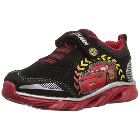 Josmo Character Shoes CH73725 Boys Cars sneakers (Toddler/Little Kid),Black/Red,11 M US Little Kid Josmo Character Shoes CH73725 Boys Cars sneakers (Toddler/Little Kid),Black/Red,11 M US Little Kid