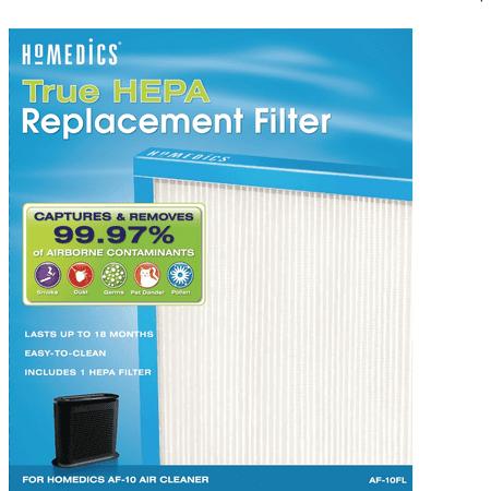 HoMedics True HEPA Replacement Filter, 75 CADR AF-10FL ()
