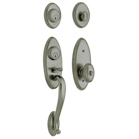 Baldwin Hardware 85345 151 2LH Handle Set