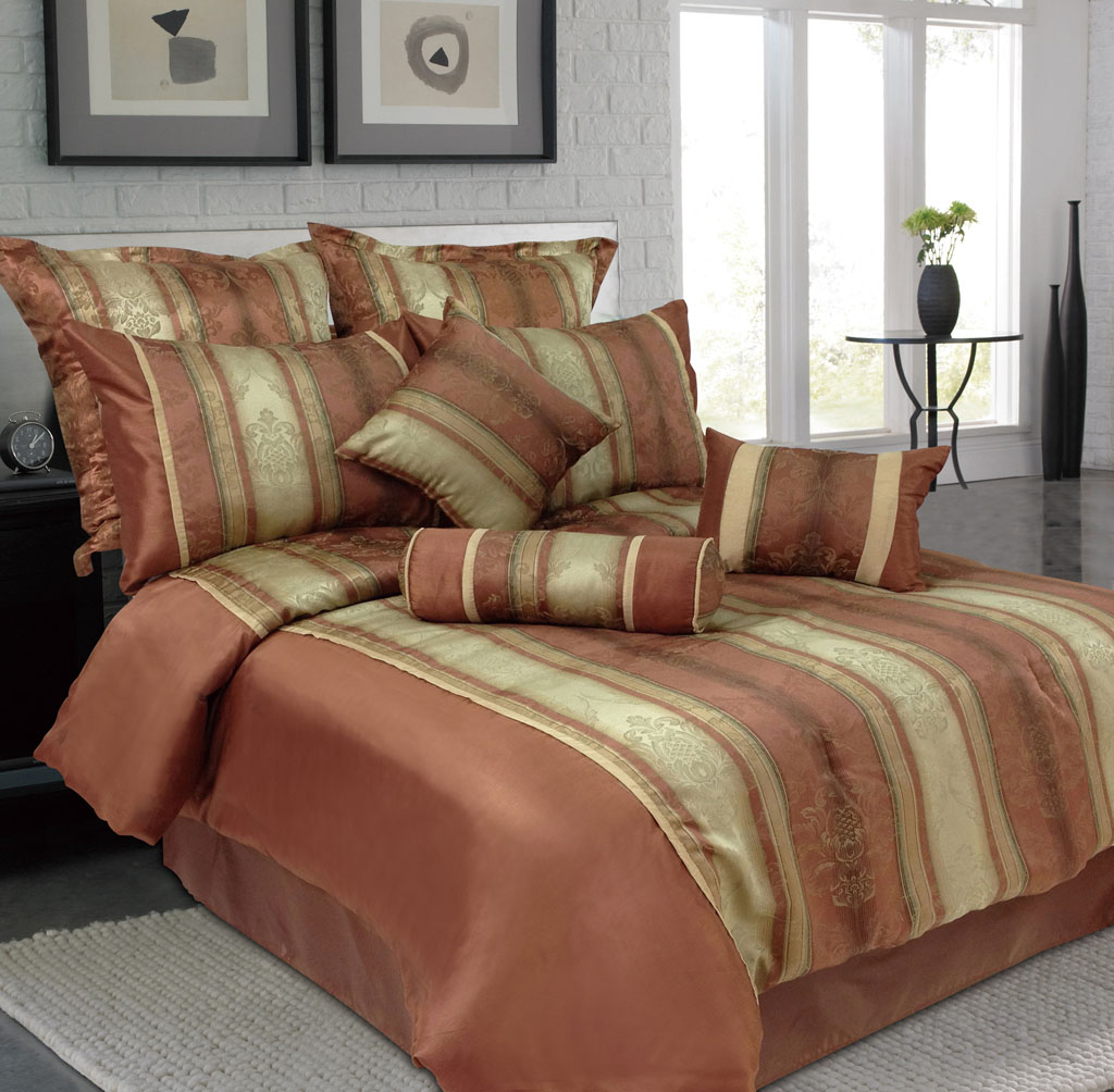 autumn comforter watercolor set rust eikei cover duvet leaf product