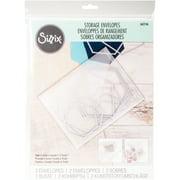 "Sizzix Accessory - Plastic Envelopes 9"" x 11 3/4"" 2 Pack"