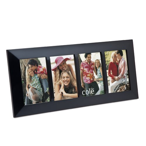Philip Whitney 4 Opening Wood Divider Picture Frame