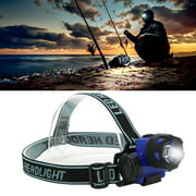 Sonew Headlamp Fishing Headlamp Flashlight Camping Lightweight For Illumination