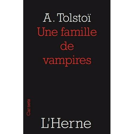 Une famille de vampires - eBook (Photos De Vampire D'halloween)
