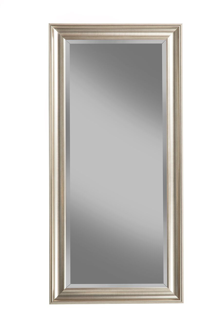 Full Length Mirror Leaning Floor Large Silver Big Standing