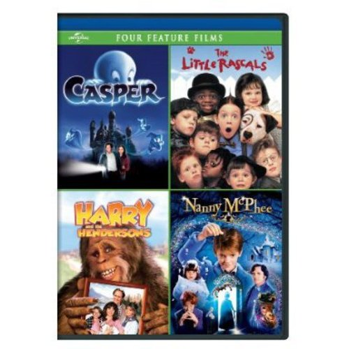 Casper / The Little Rascals / Harry And The Hendersons / Nanny McPhee (Anamorphic Widescreen)