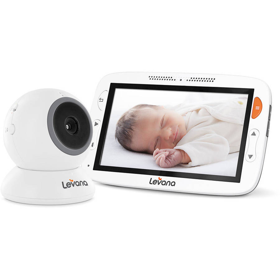 Levana 32199 Alexa 5 LCD Video Baby Monitor