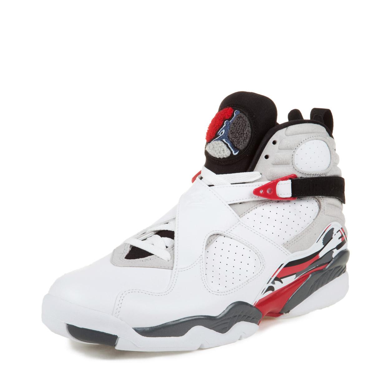 "Nike Mens Air Jordan 8 Retro ""Bugs Bunny"" White/Black-Tru..."