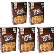 5-Pack Sugar In The Raw Turbinado Cane Sugar, Pack Contains 1000-4.5g packets