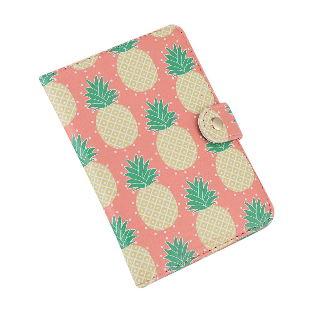Ananas Credit yosoo cute printing pu leather passport holder protection cover id
