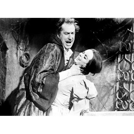 The Pit And The Pendulum Vincent Price Barbara Steele 1961 Photo Print