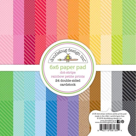 6135 Paper Crafts, Multi, The perfect start to your scrapbooks cards and more! this pad contains 24 6x6 inch double-sided sheets in 12 different designs (two of.., By - Owl Scrapbook Paper