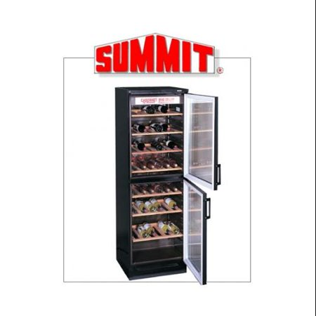 Summit Commercial Full-Sized Wine Cellar with Euro Preservation System