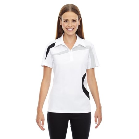 Ash City - North End Ladies' Impact Performance Polyester Piqué Colorblock Polo - image 1 of 1