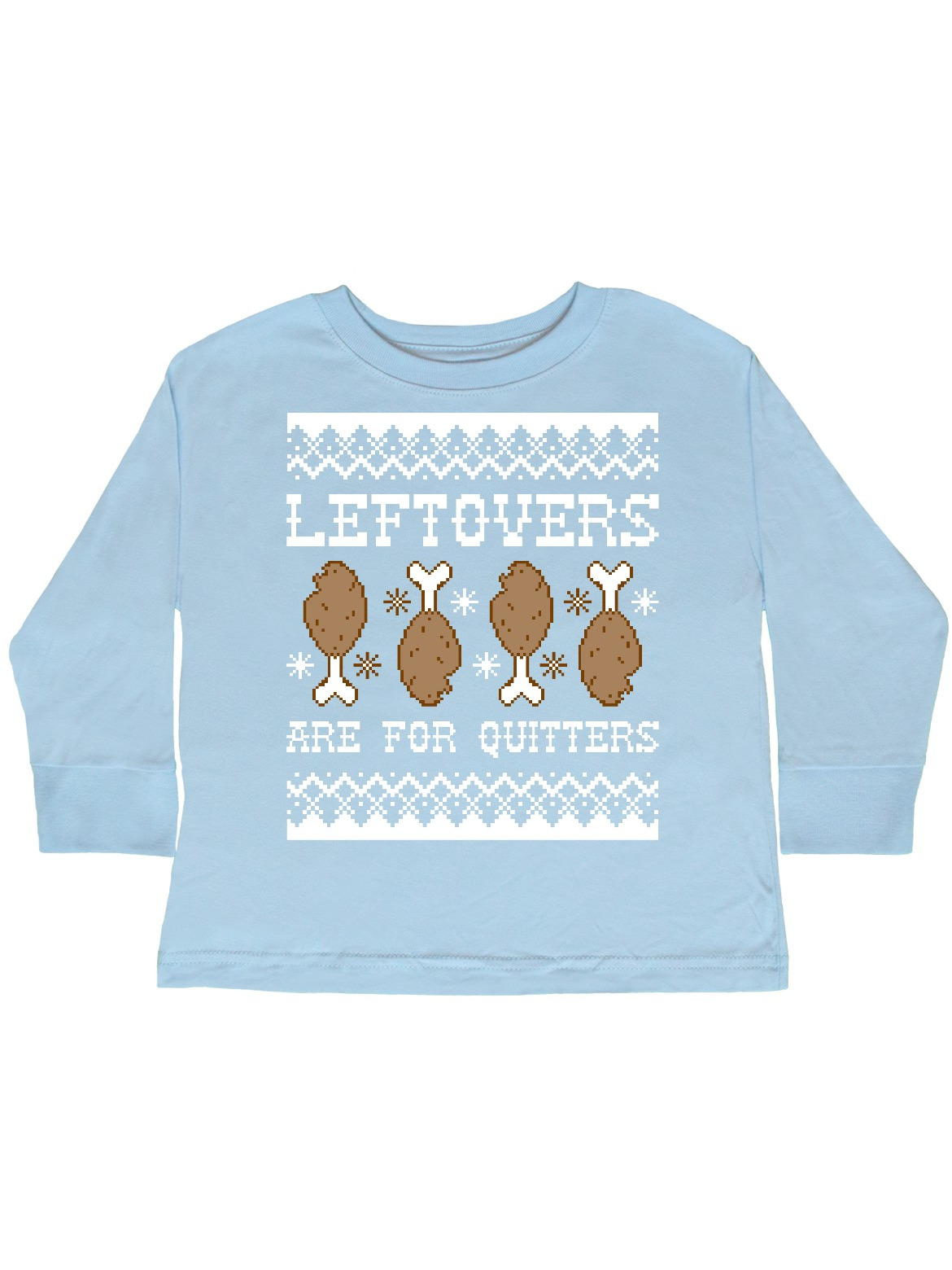 Ugly Leftovers Sweater Toddler Long Sleeve T-Shirt