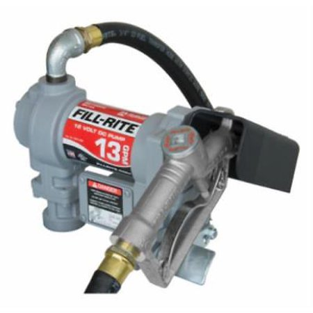 12V DC Fill Rite Standard Duty Pump 13 GPM Heavy Duty Cast Iron Contra