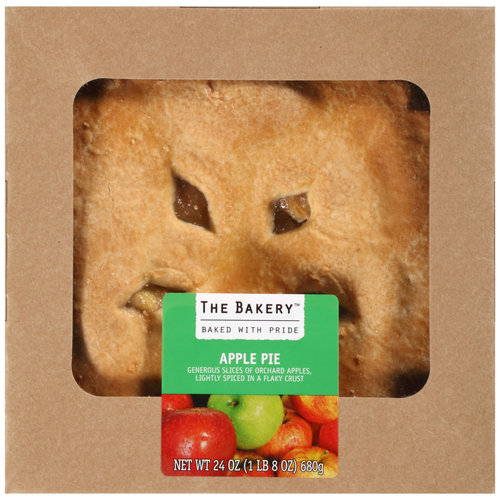 The Bakery at Walmart Double Crust Apple Pie, 24 oz